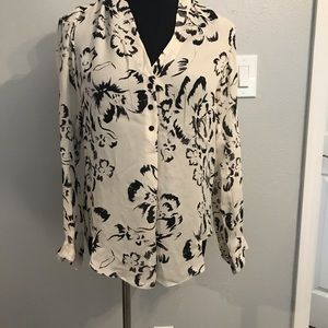 Rebecca Taylor Tops - Rebecca Taylor artisan floral blouse size 2